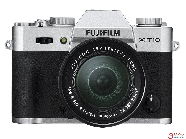 Цифровой фотоаппарат Fujifilm X-T10 + XC 16-50mm Kit Silver (16471263)