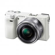 Цифровой фотоаппарат Sony Alpha 6000 + объектив 16-50mm kit White (ILCE6000LW.CEC)