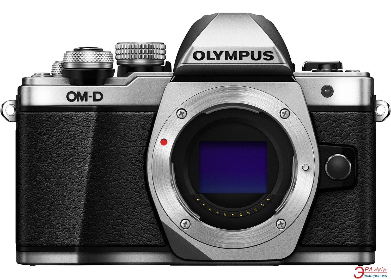 Цифровой фотоаппарат Olympus E-M10 mark II Body Silver (V207050SE000)