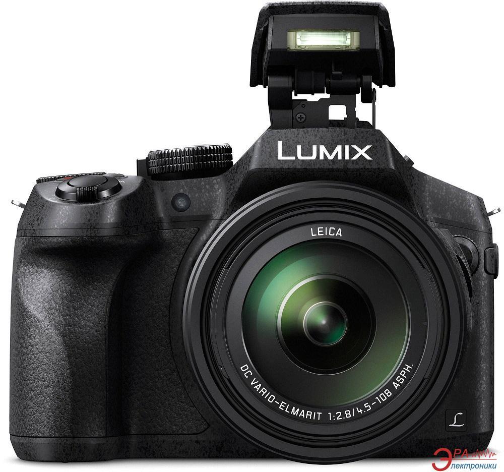 Цифровой фотоаппарат Panasonic LUMIX DMC-FZ300 Black (DMC-FZ300EEK)