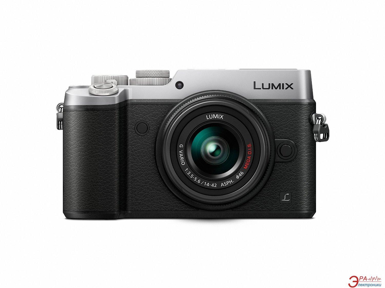 Цифровой фотоаппарат Panasonic DMC-GX8 Kit 14-42mm Black\Silver (DMC-GX8KEE-S)