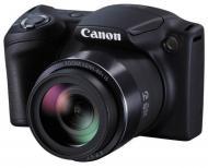 Цифровой фотоаппарат Canon Powershot SX412 IS Black (0427C003AA)
