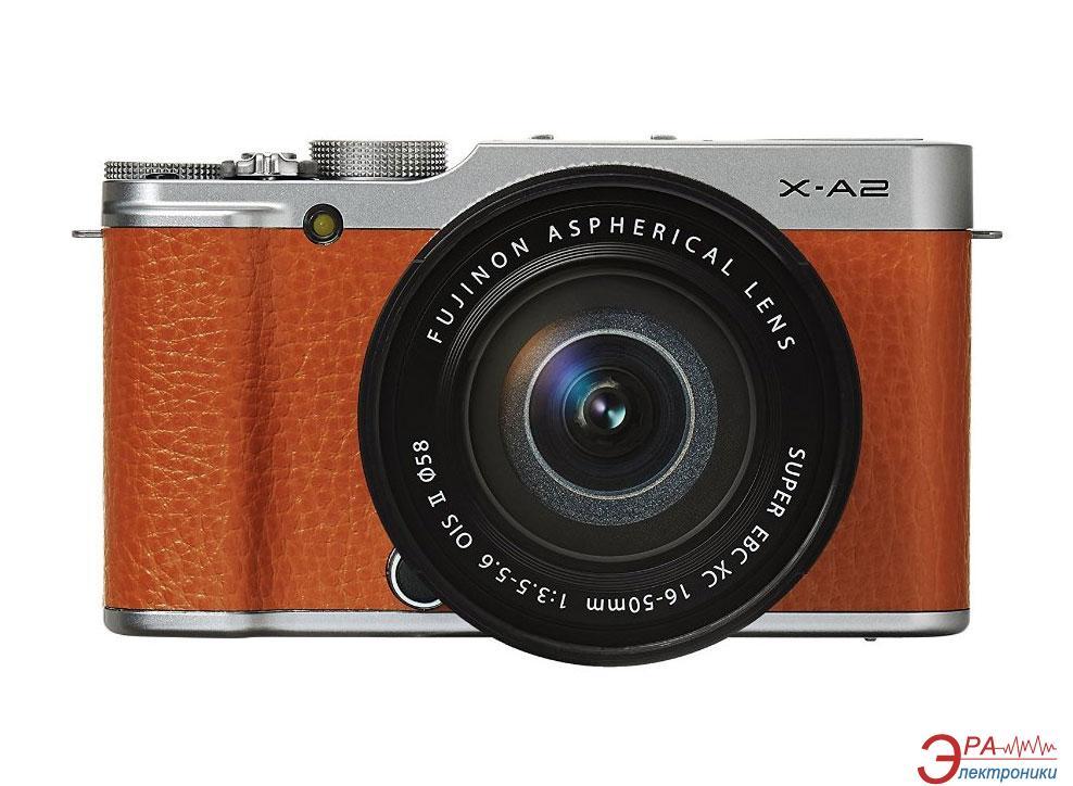 Цифровой фотоаппарат Fujifilm X-A2 + XC 16-50mm Kit Brown (16455221)