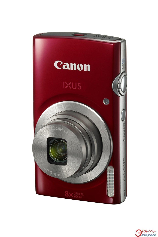 Цифровой фотоаппарат Canon IXUS 175 Red (1097C010AA)