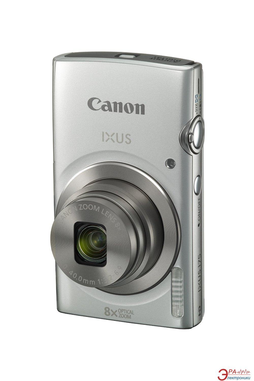 Цифровой фотоаппарат Canon IXUS 175 Silver (1094C010AA)