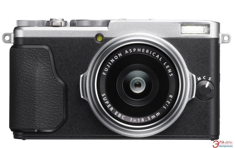 Цифровой фотоаппарат Fujifilm FinePix X70 Silver (16499124)