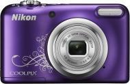 Цифровой фотоаппарат Nikon Coolpix A10 Purple (VNA983E1)