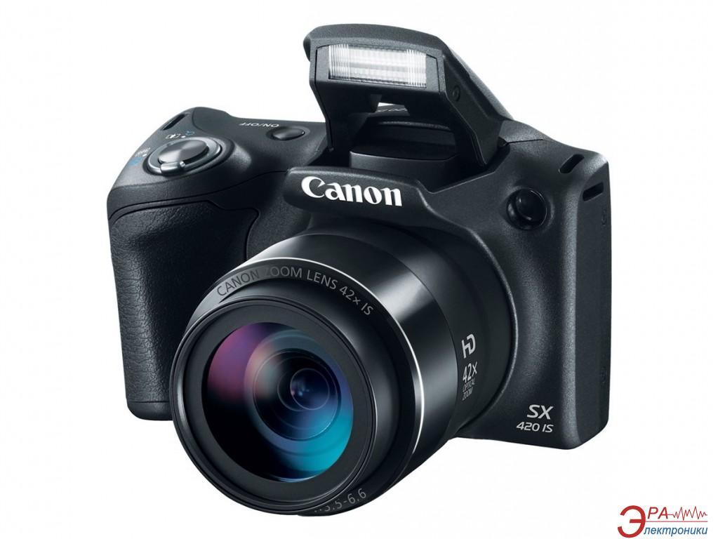 Цифровой фотоаппарат Canon Powershot SX420 IS Black (1068C012AA)