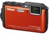Цифровой фотоаппарат Nikon Coolpix AW120 Outdoor kit Orange (VNA592K001)