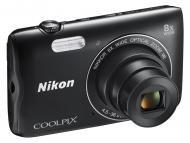 Цифровой фотоаппарат Nikon Coolpix A300 Black (VNA961E1)