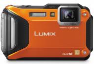 Цифровой фотоаппарат Panasonic LUMIX DMC-FT5 Orange (DMC-FT5EE9-D)