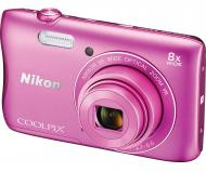 �������� ����������� Nikon Coolpix S3700 + 8GB SD card Pink (VNA823K001)