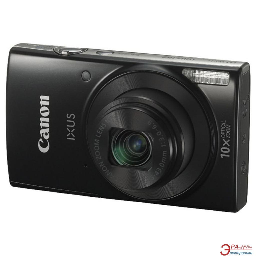 Цифровой фотоаппарат Canon IXUS 182 Black (1192C003) Black