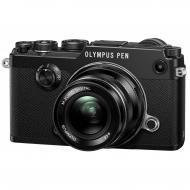 �������� ����������� Olympus PEN-F 17mm 1:1.8 Kit Black (V204063BE000)
