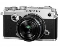 �������� ����������� Olympus PEN-F 17mm 1:1.8 Kit Black\Silver (V204063SE000)