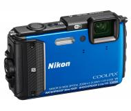Цифровой фотоаппарат Nikon Coolpix AW130 Blue (VNA841E1)