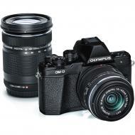 Цифровой фотоаппарат Olympus E-M10 mark II Pancake Double Zoom 14-42+40-150 Kit Black (V207053BE000)