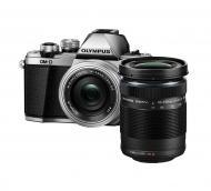 Цифровой фотоаппарат Olympus E-M10 mark II Pancake Double Zoom 14-42+40-150 Kit Black\Silver (V207053SE000)