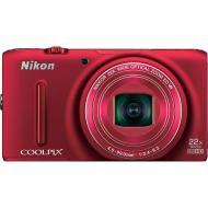 Цифровой фотоаппарат Nikon Coolpix S9500 Red (VNA262E1)