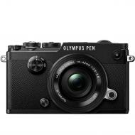 Цифровой фотоаппарат Olympus PEN-F Pancake Zoom 14-42 Kit Black (V204061BE000)