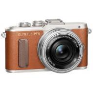 Цифровой фотоаппарат Olympus E-PL8 14-42 mm Pancake Zoom Kit Brown (V205082NE000)