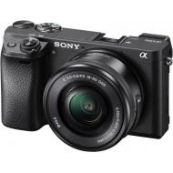 Цифровой фотоаппарат Sony Alpha 6300 kit 16-50mm Black (ILCE6300LB.CEC)