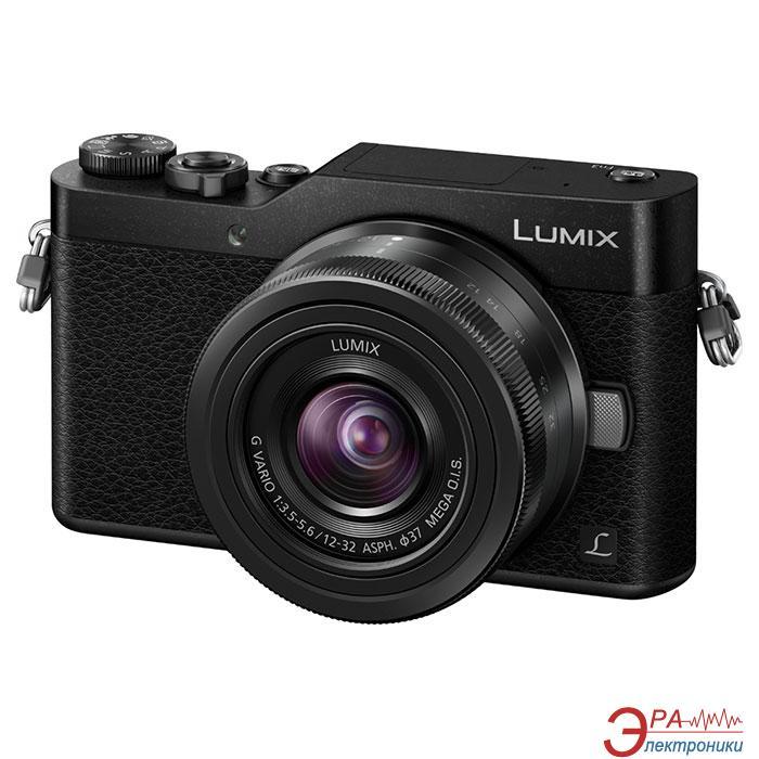 Цифровой фотоаппарат Panasonic DMC-GX800 Kit 12-32mm Black (DC-GX800KEEK)
