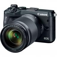Цифровой фотоаппарат Canon EOS M6 18-150 IS STM Black Black (1724C044AA)