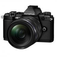 Цифровой фотоаппарат Olympus E-M5 mark II 12-40 PRO Kit + HLD-8 + BLN-1 Black (V207041BE010)