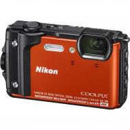 Цифровой фотоаппарат Nikon Coolpix W300 Orange (VQA071E1)