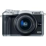Цифровой фотоаппарат Canon EOS M6 Kit 15-45 IS STM Silver (1725C045)