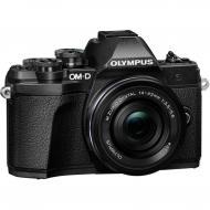 Цифровой фотоаппарат Olympus E-M10 mark III Pancake Zoom 14-42 Kit Black (V207072BE000)