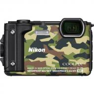 Цифровой фотоаппарат Nikon Coolpix W300 Holiday kit Camouflage (VQA073K001)