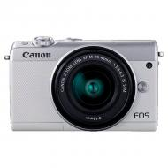 Цифровой фотоаппарат Canon EOS M100 + 15-45 IS STM Kit White (2210C048)