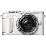 Цифровой фотоаппарат Olympus E-PL9 14-42 mm Pancake Zoom Kit White/Silver (V205092WE000)