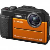 Цифровой фотоаппарат Panasonic LUMIX DC-FT7EE-D Orange (DC-FT7EE-D)