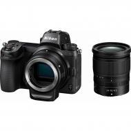 Цифровой фотоаппарат Nikon Z7 24-70 f4 Kit + FTZ Adapter Black (VOA010K003)