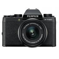 Цифровой фотоаппарат Fujifilm X-T100 + XC 15-45mm F3.5-5.6 Kit Black (16582892)