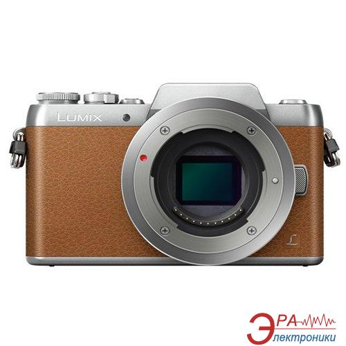 Цифровой фотоаппарат Panasonic DMC-GF7 Kit 14-42mm Brown (DMC-GF7KEE-T)