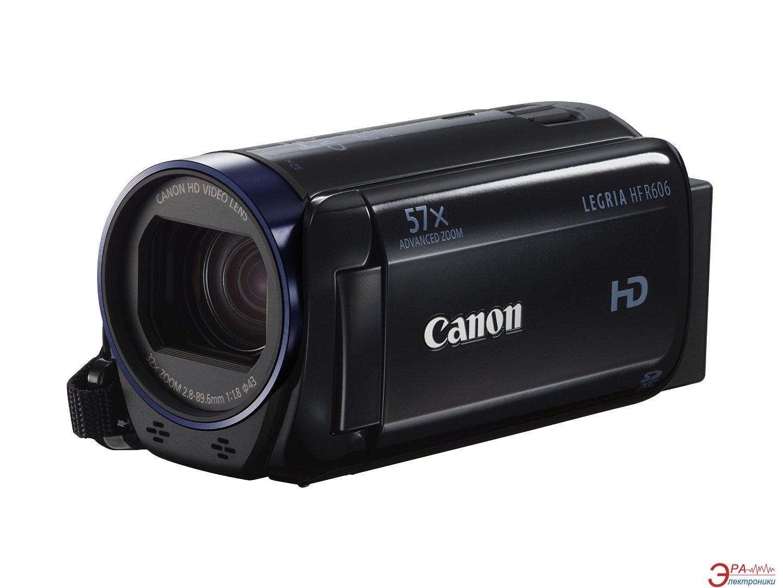 Цифровая видеокамера Canon LEGRIA HF R606 Black (0280C011AA)