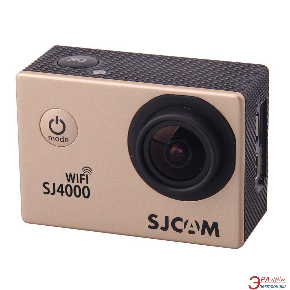 Экшн камера SJCAM SJ4000 Wi-Fi Gold