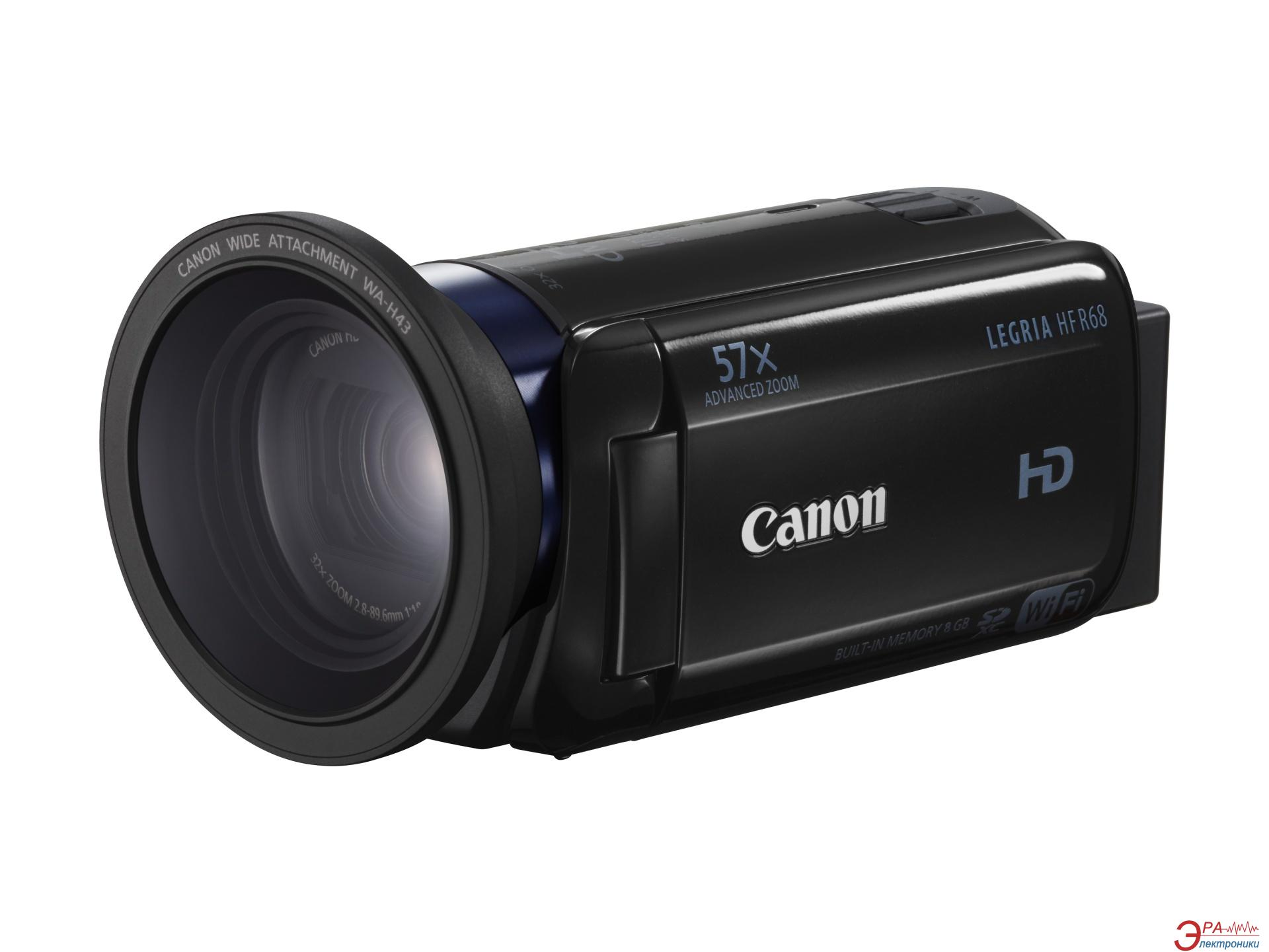 Цифровая видеокамера Canon HDV Flash HF R68 Black (0279C011)