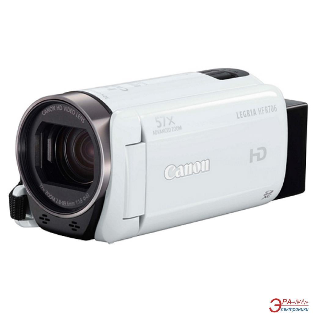 Цифровая видеокамера Canon Legria HF R706 White (1238C004)