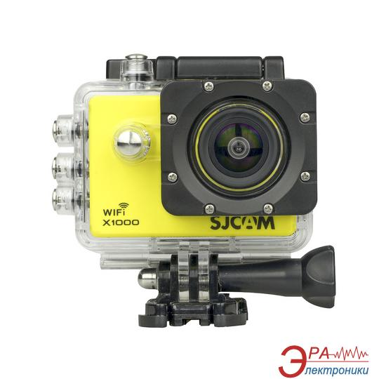 Экшн камера SJCAM X1000 WiFi Limited Edition Yellow