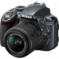���������� ���������� Nikon D3300 KIT 18-55 VR II + Aculon T01 (VBA390KV02) Black
