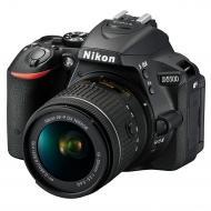 Зеркальная фотокамера Nikon D5500 + AF-P 18-55VR KIT (VBA440K006) Black