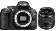 Зеркальная фотокамера Nikon D5200 kit + 18-55 II (VBA350KV02) Black
