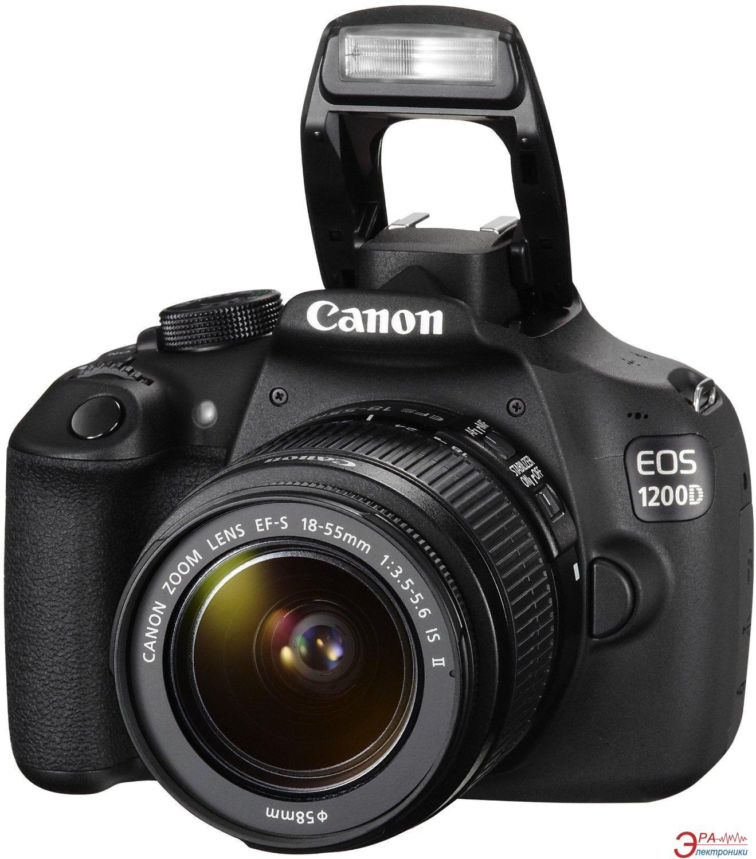 Зеркальная фотокамера Canon EOS 1200D EF-S 18-55 DC III + EF 50 1.8 STM (9127B131AA) Black