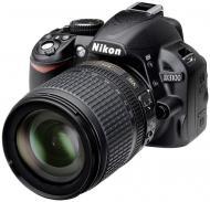 Зеркальная фотокамера Nikon D3100 Kit AF-S DX 18-105 VR (VBA280K006) Black