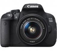 Зеркальная фотокамера Canon EOS 700D + объектив 18-55 DC III (8596B116) Black